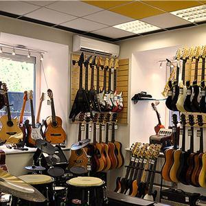 Музыкальные магазины Темпов
